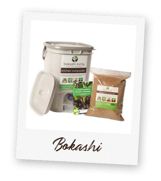 Bokashi compost bin.